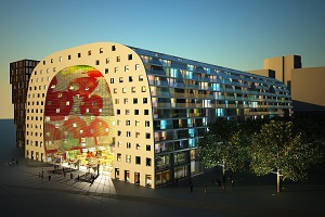 Project WNH Markthal Rotterdam groot succes!